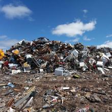 Drcení a zpracování odpadů