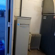 4. jednotka Microtec v technické místnosti