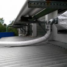 Odběr vzdušiny ze sklepních prostor do zařízení Smell-O-Meter