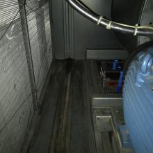 Umístění nosiče v prostoru vzduchotechniky